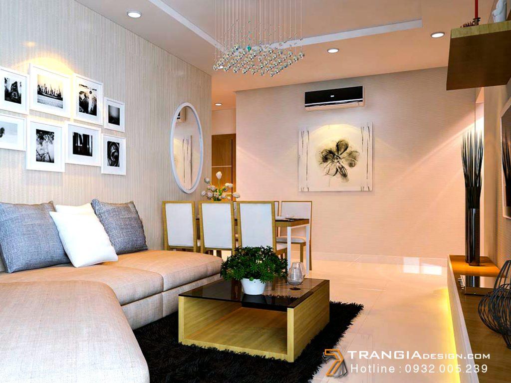 Thiết kế nội thất căn hộ chung cư Himlam