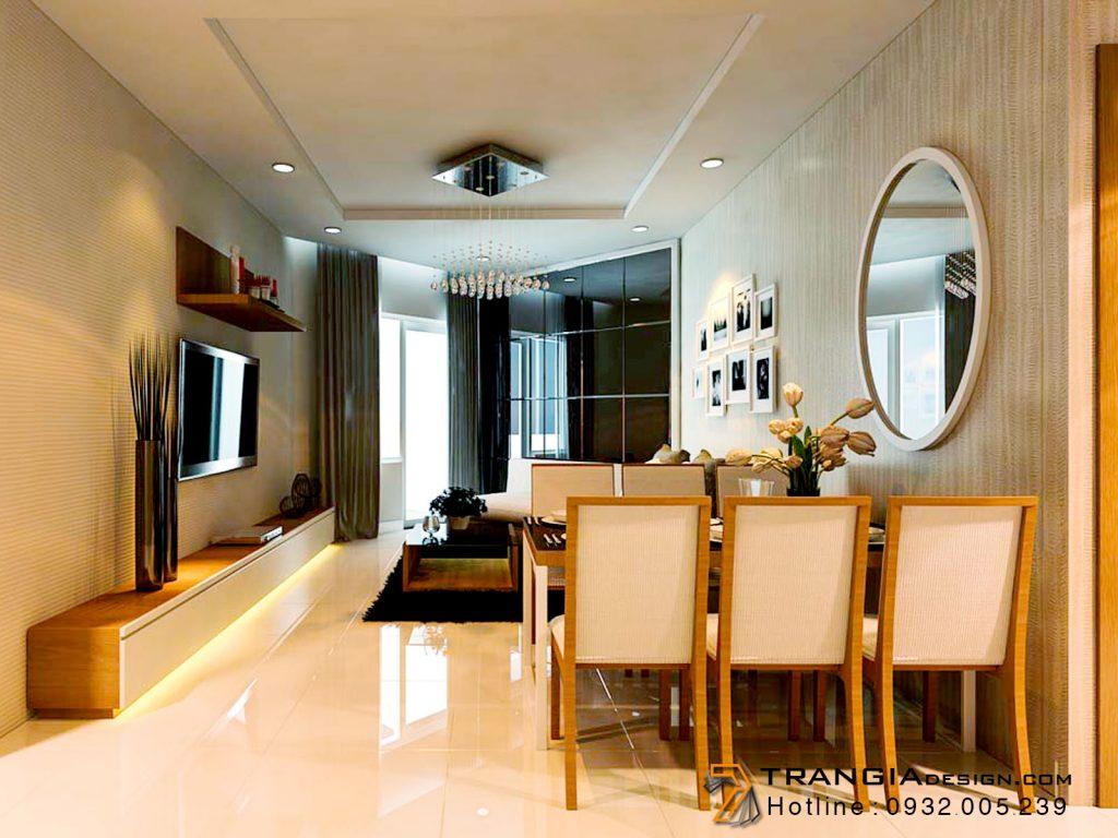 Thiết kế nội thất căn hộ chung cư đẹp
