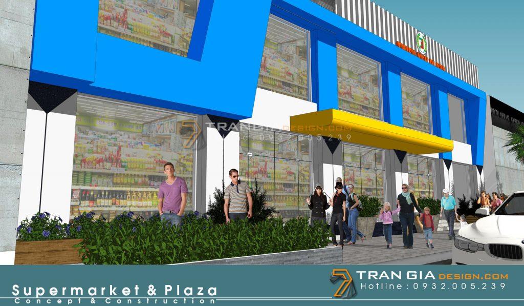 thiết kế thi công gian hàng shopping mall