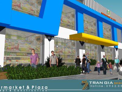 thiết kế shopping mall hiện đại