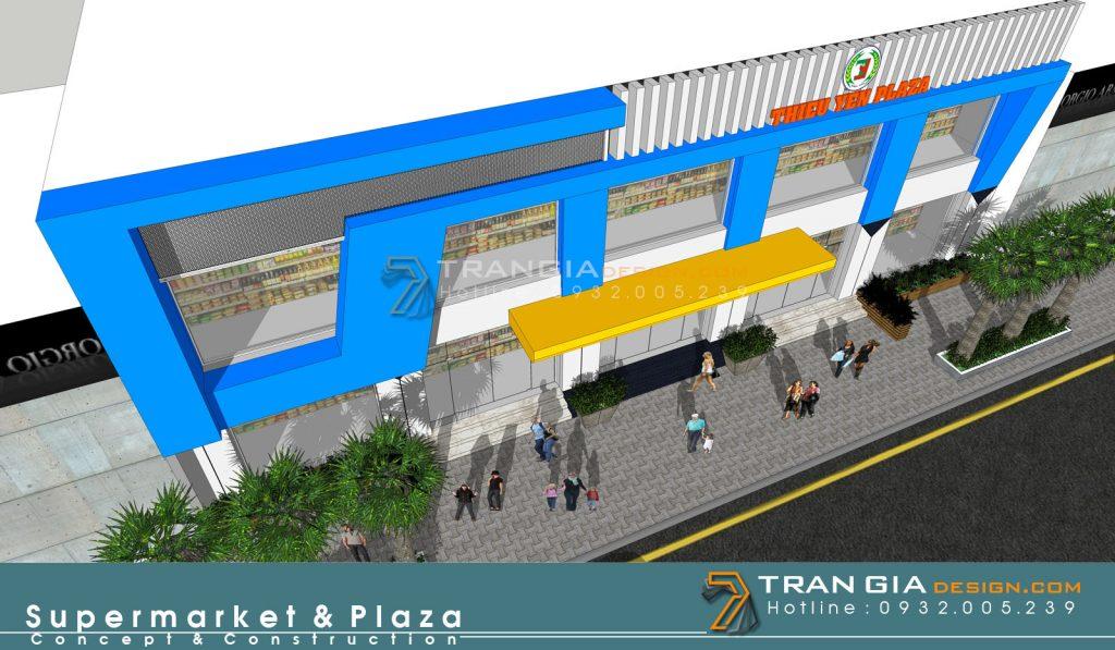 thiết kế thi công trung tâm thương mại shopping mall