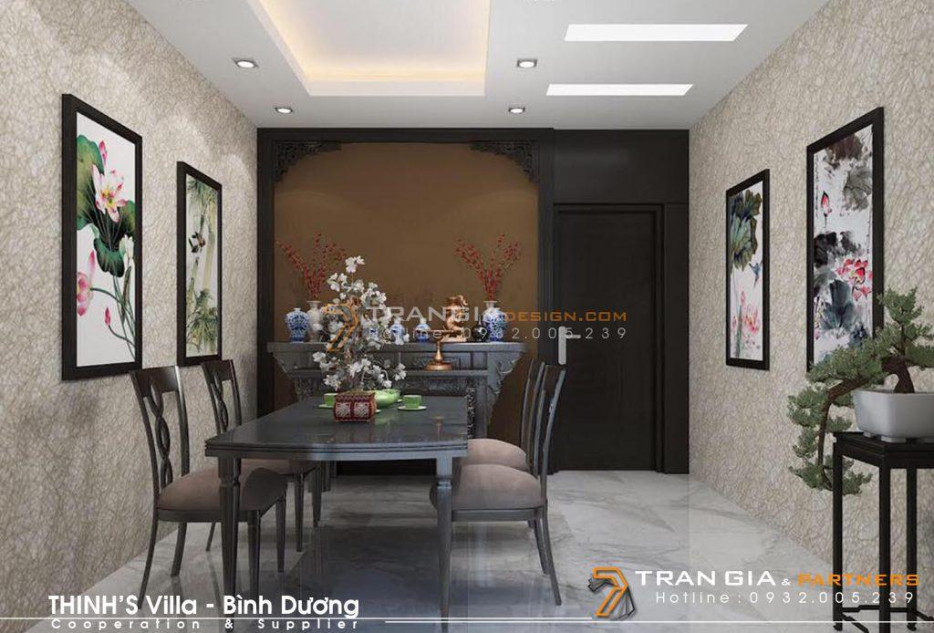 Thiết kế nội thất đẹp và sang