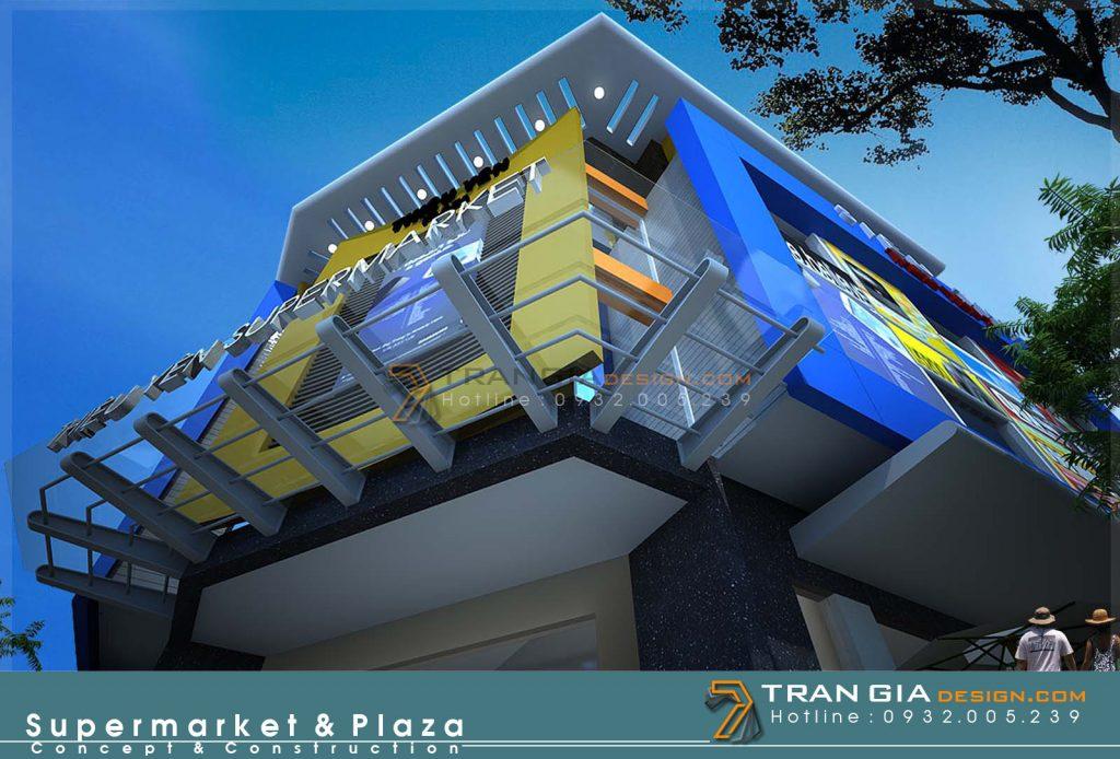 Thiết kế trung tâm thương mại plaza