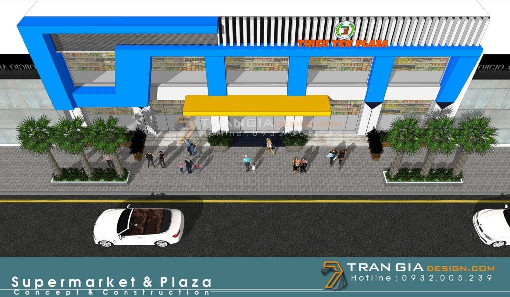 thiết kế trung tâm thương mại shopping mall