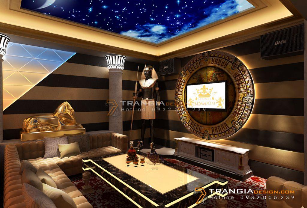Thiết kế nội thất karaoke sang trọng