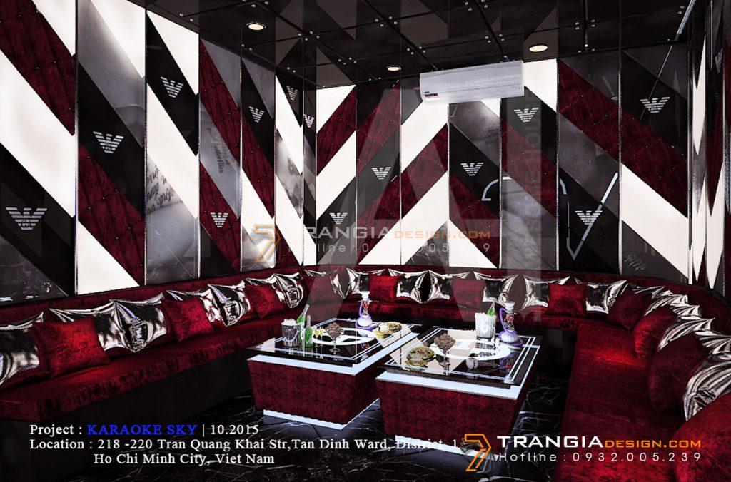 Thiết kế nội thất karaoke chuyên nghiệp