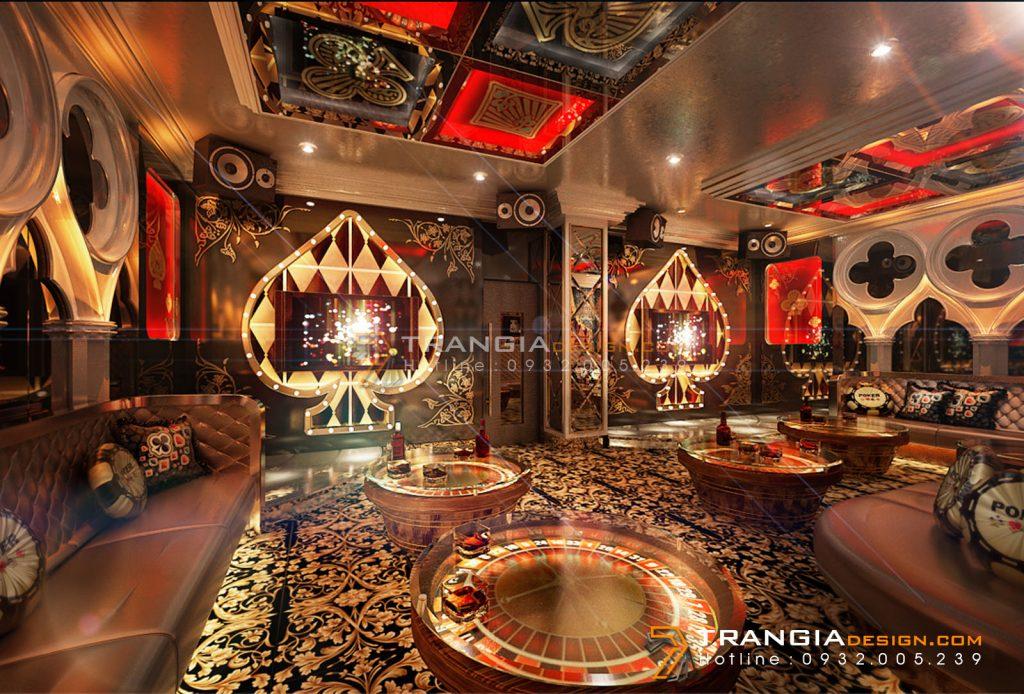 Thiết kế nội thất karaoke đẹp ấn tượng