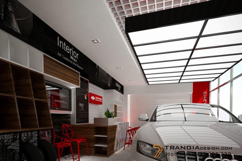 Thiết kế nội thất showroom shop đẹp