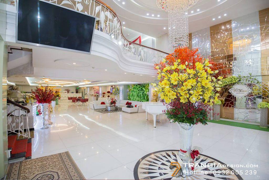 Thiết kế nội thất nhà hàng tiệc cướiđẹp