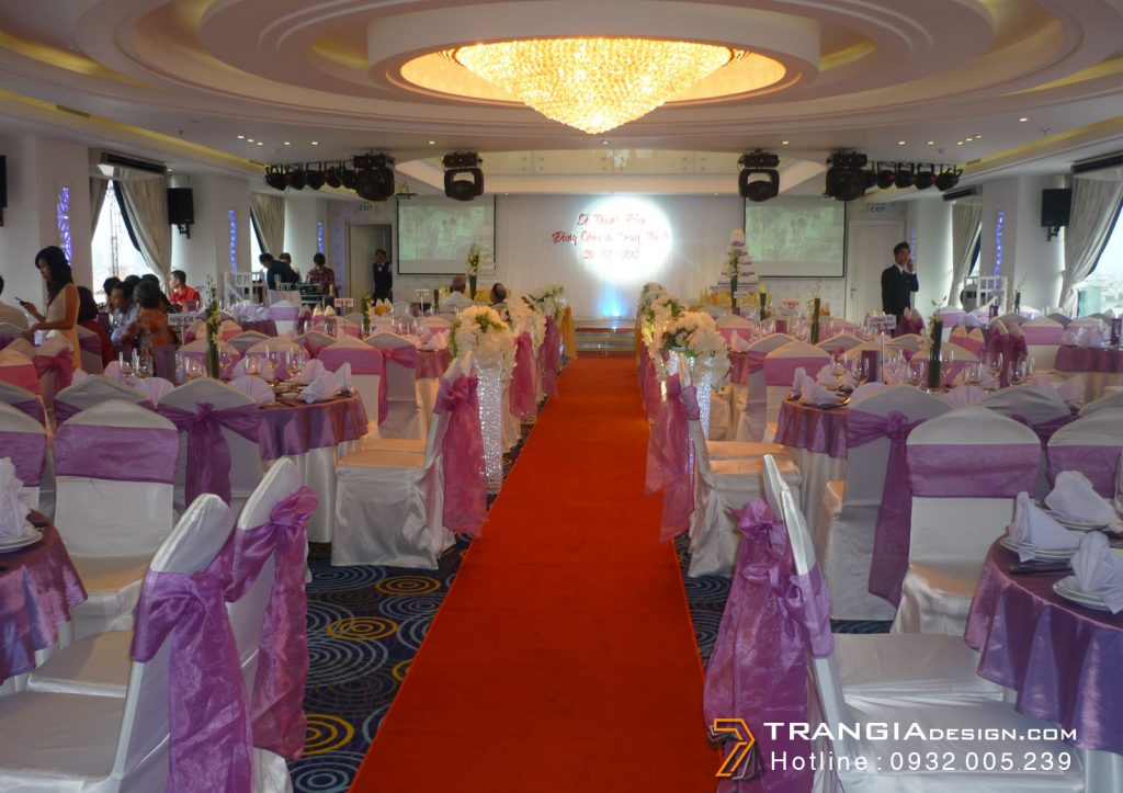 Thiết kế nội thất tiệc cướiđa năng