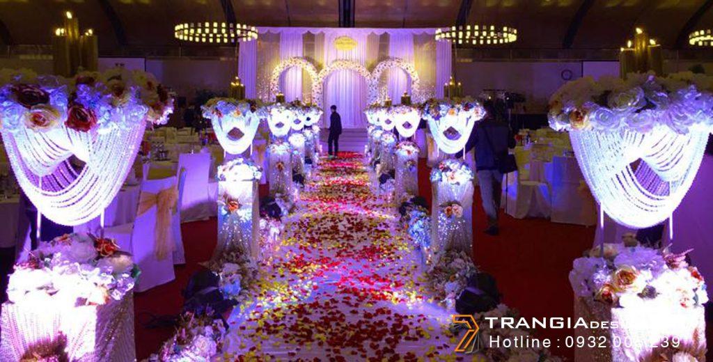 Thiết kế nội thất tiệc cướiđẹp
