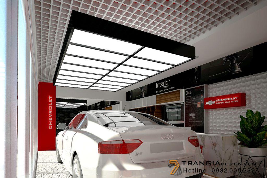 Thiết kế nội thất showroom shop đơn giản hiện đại