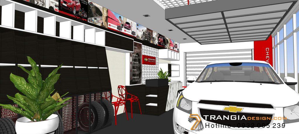 Thiết kế nội thất showroom trưng bày triễn lãm