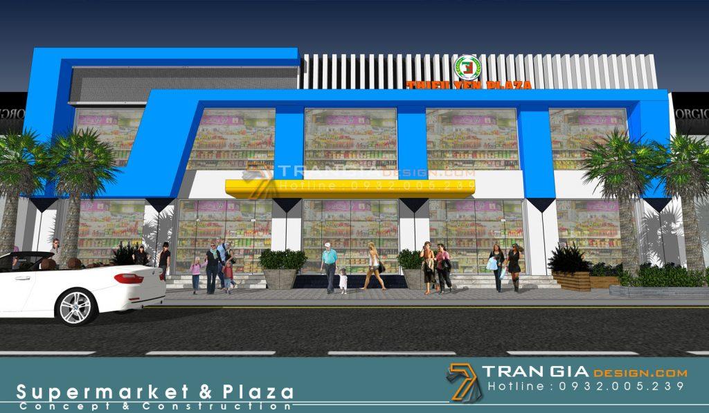 thiết kế gian hàng shopping mall
