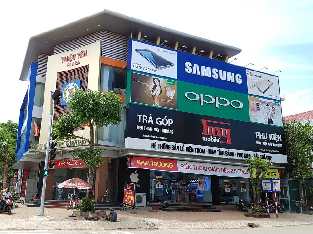 thiết kế trung tâm thương mại đẹp