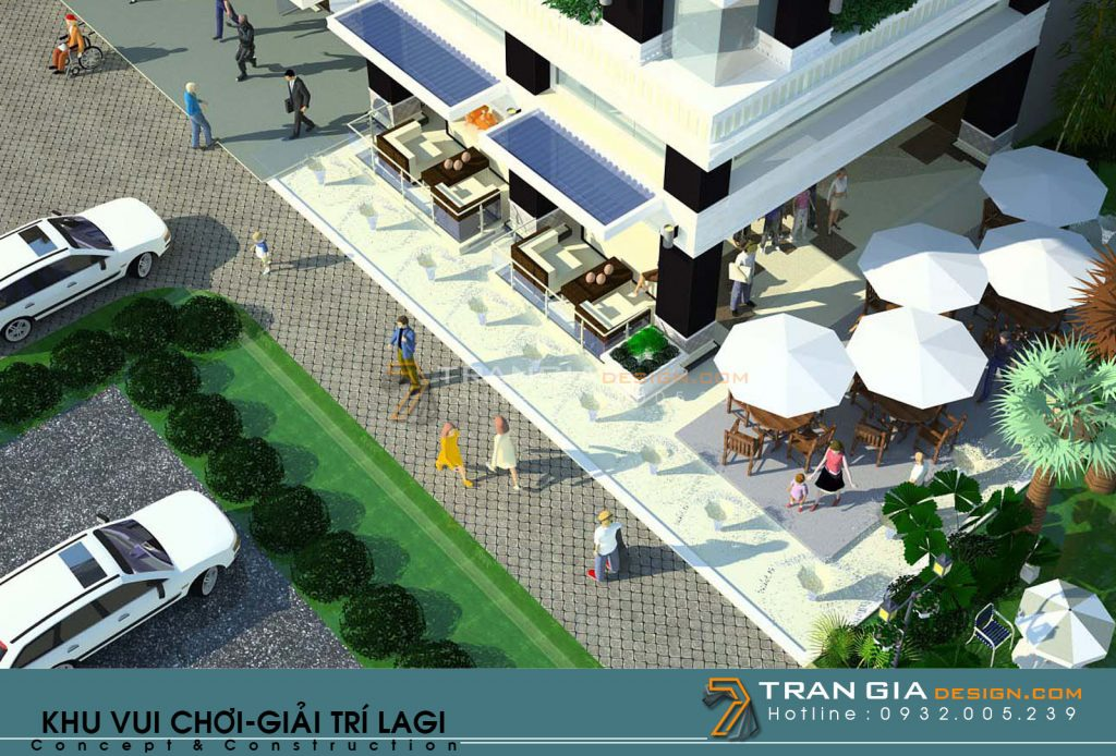 Thiết kế resort 7 Wonder