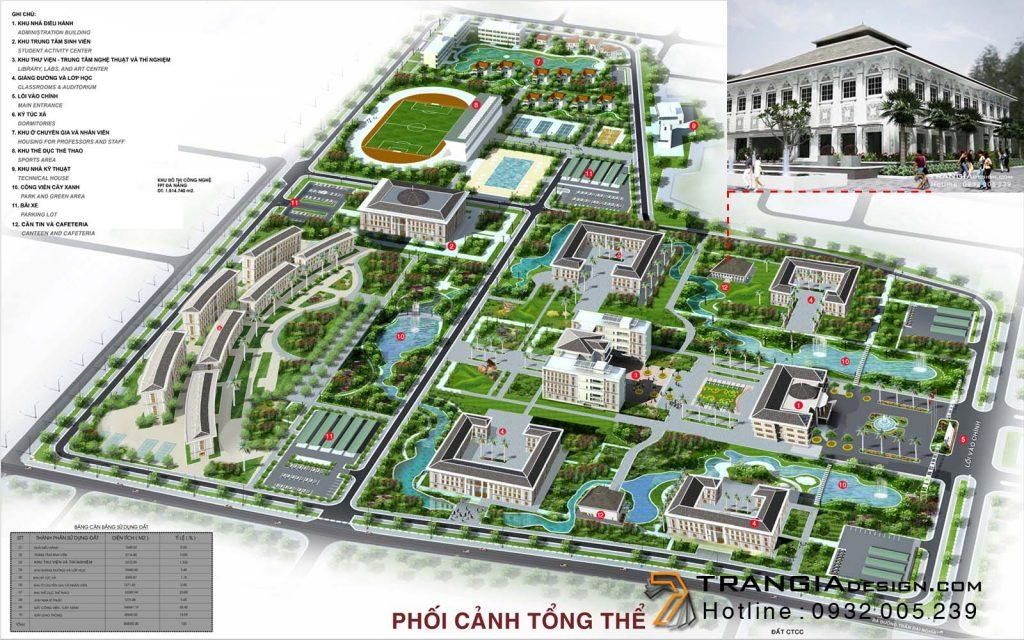 thiết kế trường học quốc tế