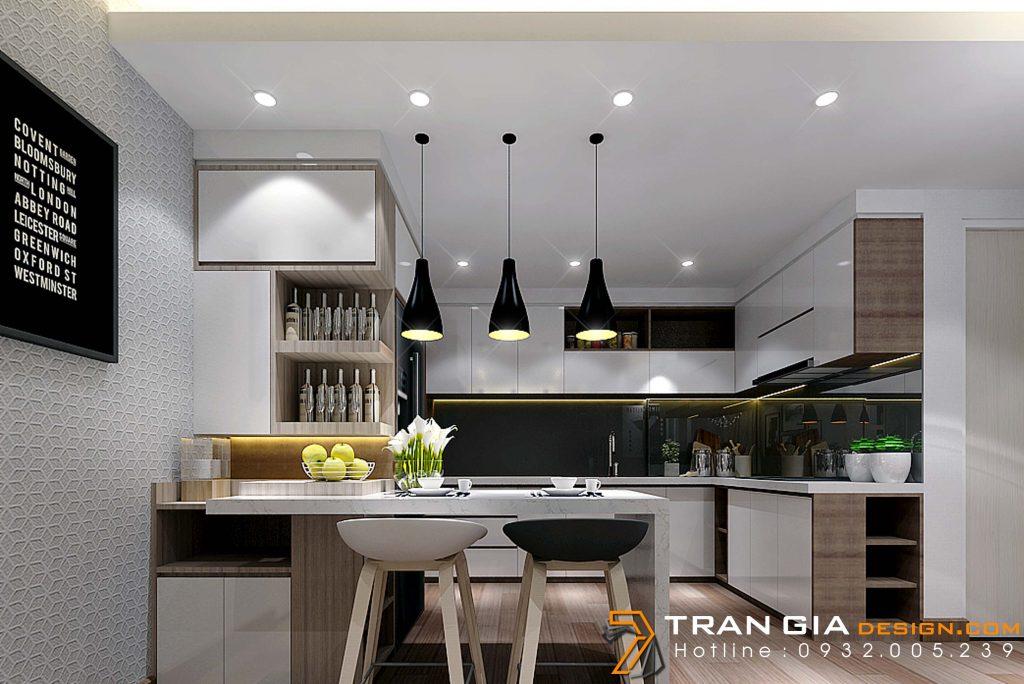 Thiết kế nội thất căn hộ chung cư FLORA FUJI