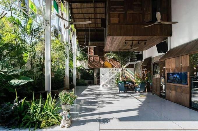 Thiết kế nhà phố như resort