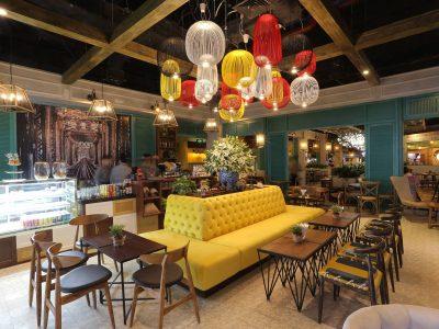Thiết kế nội thất quán cafe và trà sữa