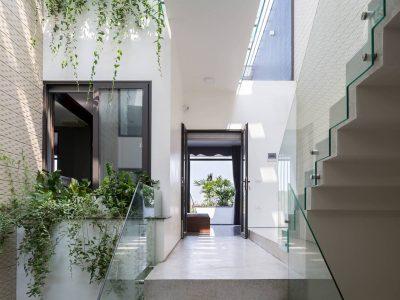 thiết kế nhà phố thoáng rộng